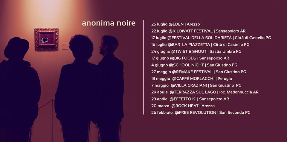 Anonima Noire tour 2